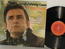 JOHNNY CASH The World Of 20 songs Delia's Gone In The Jailhouse Now Casey Jones