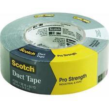 "6 Pk 3M Scotch Pro Strength 1.88"" X 60 Yd Gray Duct Tape 1260-A"
