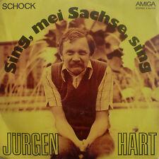 "7"" 1979 ! JÜRGEN HART : Sing mei Sachse sing / VG++"