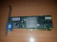 ST Lab AGP-305-4M-32M SIS 305 Chip 32MB VRAM AGP 4X Computer SUB-D