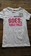 Dear by Amanda Bynes Girls White T-Shirt - Size Small