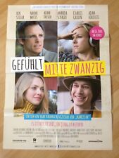 Filmposter * Kinoplakat * A1 * Gefühlt Mitte Zwanzig * 2015 * Noah Baumbach