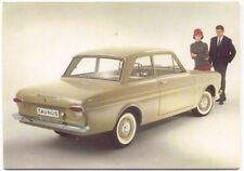 Ford Taunus 12M Factory issued colour Postcard