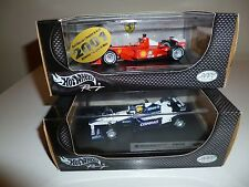 Ferrari F2001+ Williams FW23 Michael e Ralf SCHUMACHER 1/43 Hotwheels stock RARE