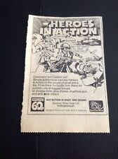 Q1c Ephemera 1976 Summer Rose Toys Heroes In Action Soldier