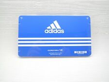 Blue adidas Mitsubishi Color pencil NO.880 12 Color W/metal case(Made in Japan)