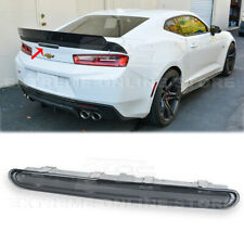 For 16-Up Chevrolet Camaro Rear Third Brake Light GM SMOKE LENS Darkened LED