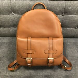 Frank Clegg-  Hampton Backpack - Cognac - New - Mint Condition