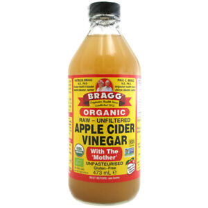 Bragg Organic Raw Apple Cider Vinegar With Mother- Choose either 473ml or 946ml