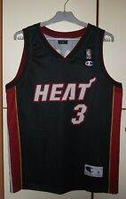 Miami Heat NBA Champion Basketball jersey shirt maillot #3 Dwyane Wade size M