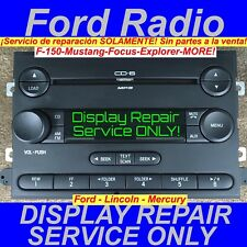 REPAIR SERVICE 2005-2012 FORD F250 F350 RADIO Display ONLY CD Stereo Visteon