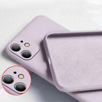 Hülle iPhone 11 12 / Pro / Max Schutz Tasche Silikon Handy Case Slim Cover