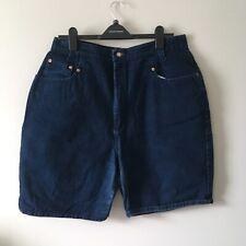 Venezia Vitale Women's Curvy Blue Jeans Shorts Bottoms Plus Sz 20