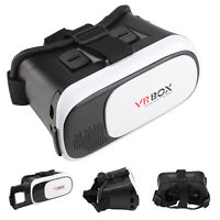 3D VR BOX Virtual Reality Goggles Headset  Controller For  iPhone Ios Android