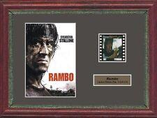 RAMBO SYLVESTER STALLONE FRAMED 35MM FILM CELL