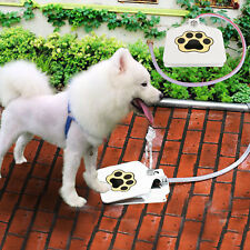 Dog Pet Steel Water Fountain with 41 Hose for Outdoor Use