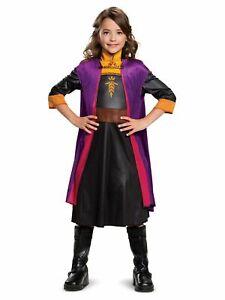 Disney Frozen 2 Anna Classic Child Costume Size Small 4-6x