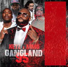 New Gangland Pt. 95 MMG Rick Ross Meek Mill Wale Gunplay Mixtape Rap Hip Hop CD