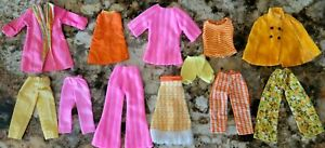 VINTAGE BARBIE SHILLMAN STYLE  WENDY STACEY PEGGY ANN MADDIE MOD CLOTHES LOT🌾