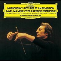 CARLO MARIA GIULINI-MUSSORGSKY: PICTURES AT AN EXHIBITION -JAPAN SHM-CD D46