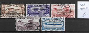 Egypt @ Good Set Air mail 1933  @ Eg.31