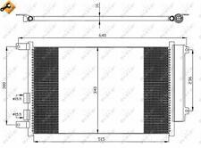 NRF | Kondensator, Klimaanlage EASY FIT (35499) für ALFA ROMEO 147 156 OPEL GT