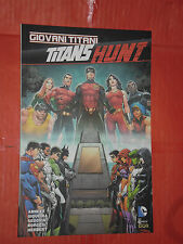 GIOVANI TITANI- N°1- titans hunt -COVER VARIANT- DI:ABNETT- DC COMICS LION