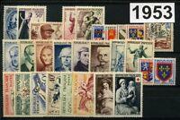 France Année complète 1953**