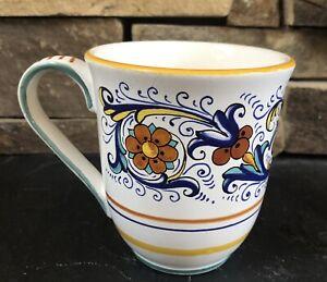 NOVA DERUTACups Handcrafted In Italy For Sur La Table Coffee Mugs 16oz