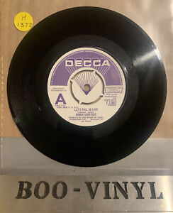 "DEMO ~ Robin Sarstedt Let's Fall In Love 7"" Decca F13662 EX 1976"