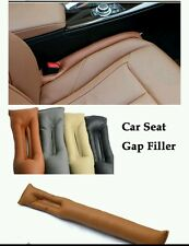 Universal Leather Auto Car Seat Gap Filler Soft Pading Holster Blocker US Stock