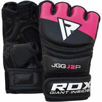 RDX J2 Kids MMA Grappling Gloves Boxing Punching Bag Muay Thai Training Martial