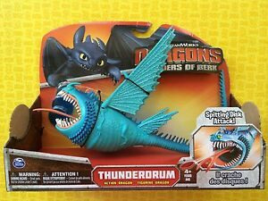 HOW TO TRAIN YOUR DRAGON BLUE THUNDERDRUM LARGE DRAGON ACTION FIGURE
