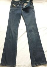 DIESEL Ronhar Jeans stretch riveted selvedge boot cut denim ITALY 26x33 XS 0-2