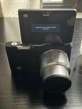 Samsung Nx Mini Digital Slr Camera - Black (Kit w/ Nx M 9mm Lens) For Parts
