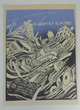 "Neko Case Walt Disney 2007 Tucson LA Gig Art Poster Judge Print 10""x14"" Signed"