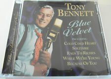 Tony Bennett Blue Velvet (CD Album 2003) Used very good