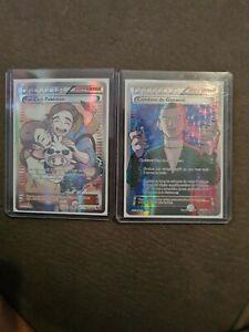 Lot De 2 Cartes Pokemon Ultra Rare Full Art Neuf Vf
