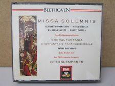 EMI WG- Beethoven: Missa Solemnis / Choral Fantasia KLEMPERER Soderstrom 2-CD