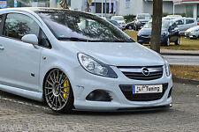 Spoilerschwert Frontspoilerlippe Cuplippe ABS Opel Corsa D OPC OPC-Line mit ABE