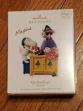 New ListingHallmark Keepsake 2010 Bah Humbug Maxine Christmas Ornament Sound New Nib