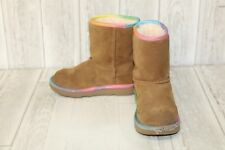 UGG K Classic Boot - Little Kid's Size 13, Brown/Rainbow