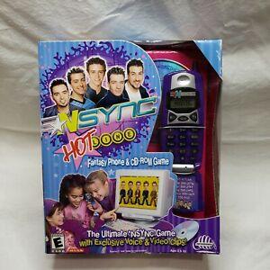 NSYNC Hotline Toy Phone Purple Rare New Vintage 2001 Original Packaging