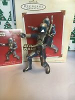 Christmas Hallmark Keepsake Star Wars Jango Fett Ornament New In Box