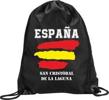 BACKPACK BAG SAN CRISTOBAL DE LA LAGUNA SPAIN GYM HANDBAG FLAG SPORT