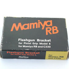 Mamiya C / RB67 Flashgun Bracket for Pistol Grip Model II, boxed, mint (13089)