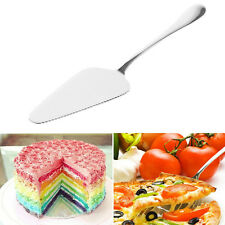 Stainless Steel Toothed Pizza Pie Cake Server Slice Slicer Serving Cutlery nice
