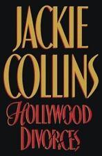 Hollywood Divorces by Jackie Collins  hardcover dj full number line