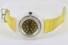 YELLOW SPEEDO QUARTZ WOMEN'S WRISTWATCH  7388