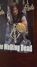 Daryl Dixon *Necklace and Earring Set* The Walking Dead *NEW*